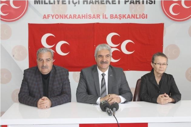DEMİREL: HDP'Lİ TERÖRİSTLERİ CHP SAVUNUYOR