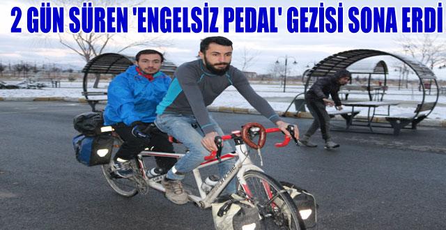 2 GÜN SÜREN 'ENGELSİZ PEDAL' GEZİSİ SONA ERDİ
