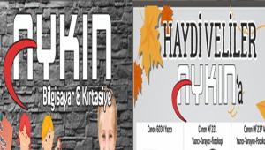 AYKIN BİLGİSAYAR&KIRTASİYE'DE DEV KAMPANYA!..