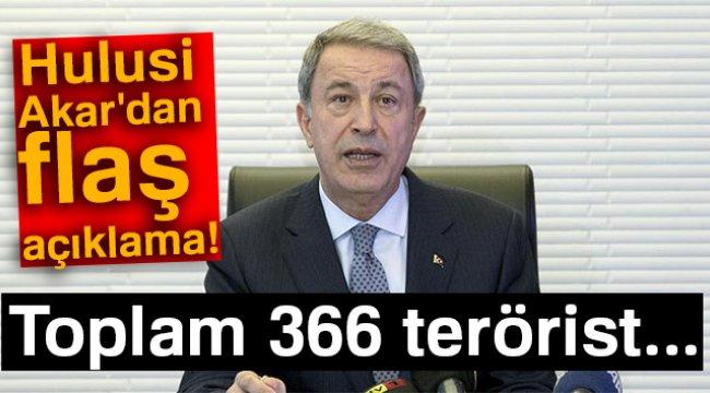 BAKAN AKAR'DAN FLAŞ AÇIKLAMALAR!..