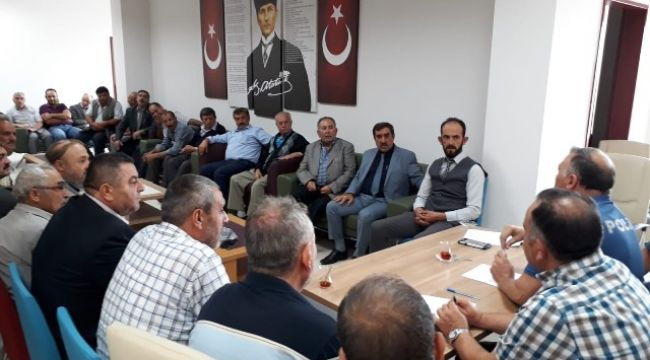 "BOLVADİN'DE ""HUZUR TOPLANTISI"" YAPILDI"