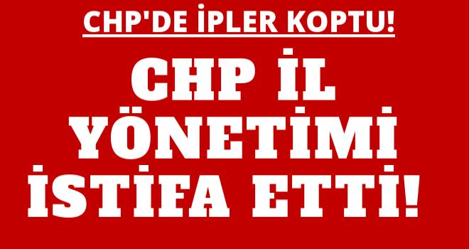 CHP AFYONKARAHİSAR İL YÖNETİMİ İSTİFA ETTİ!..