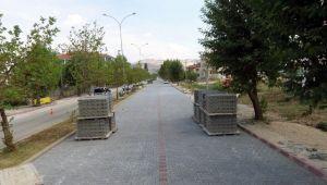 DİNAR'DA YENİ HASTANEYE YENİ YOL YAPILIYOR