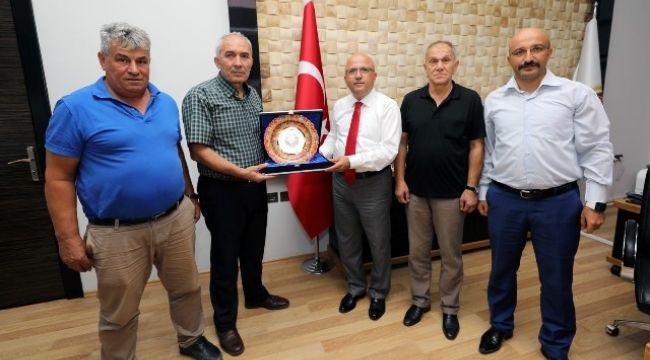MASTERLER DERNEĞİ'NDEN BAŞKAN ÇOBAN'A ZİYARET