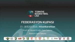 TBL FEDERASYON KUPASI AFYON'DA DEVAM EDİYOR