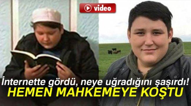 TOSUN BENZETMESİNİ GÖRÜNCE MAHKEMEYE KOŞTU!..