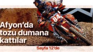ULUSAL BASINDAN DÜNYA MOTOKROS ŞAMPİYONASINA TAM NOT!..