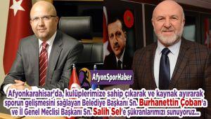 AFYONSPORHABER'DEN ÇOBAN VE SEL'E AÇIK TEŞEKKÜR!..