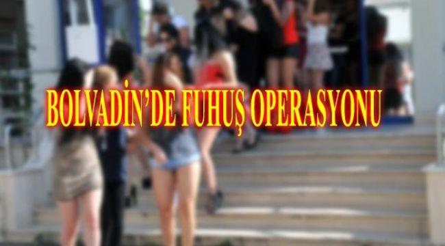 BOLVADİN'DE FUHUŞ OPERASYONU