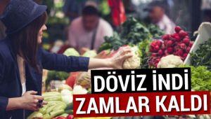 DOLAR DÜŞTÜ, ZAMLAR KALDI, TÜKETİCİ BEKLİYOR!..