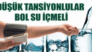 DÜŞÜK TANSİYONLULARA BOL SUÖNERİSİ...