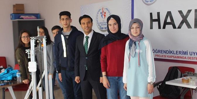 FRC'YE ROBOT HAŞHAŞ'LA KATILACAKLAR