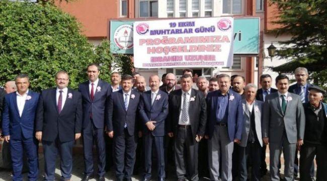 MUHTARLAR HATIRA ORMANINA FİDAN DİKTİ