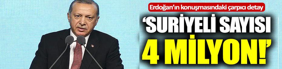 TÜRKİYE'DE 4 MİLYON SURİYELİ MÜLTECİ YAŞIYOR
