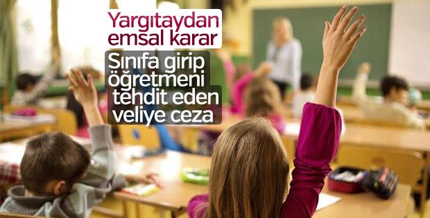 VELİLERİN SINIFA İZİNSİZ GİRMESİ İŞYERİ DOKUNULMAZLIĞINI İHLAL!..
