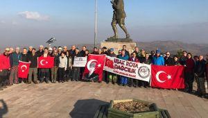 AFDOS ÜYELERİ, KOCATEPE'DEN TINAZTEPE'YE YÜRÜDÜ