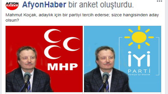 AFYONHABER FACEBOOK'TAN DEV BİR ANKET DAHA!..