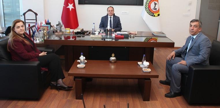 ATSO BAŞKANI SERTESER'E ÜÇ ZİYARET