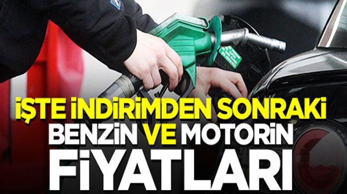 BENZİN VE MOTORİNE İNDİRİM GELDİ!..