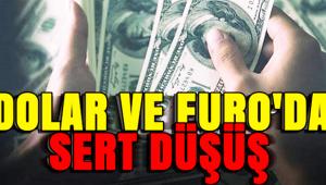 DOLAR VE EURO'DA DÜŞÜŞ DEVAM EDİYOR!..