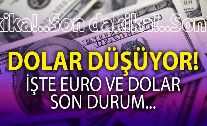 DOLAR VE EURO, DÜŞMEYE DEVAM EDİYOR!..