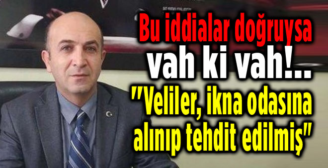 EĞER BU İDDİALAR DOĞRUYSA VAH Kİ VAH!..