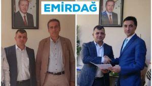 EMİRDAĞ'DA AK PARTİ'DEN İKİ ADAY ADAYI DAHA!..