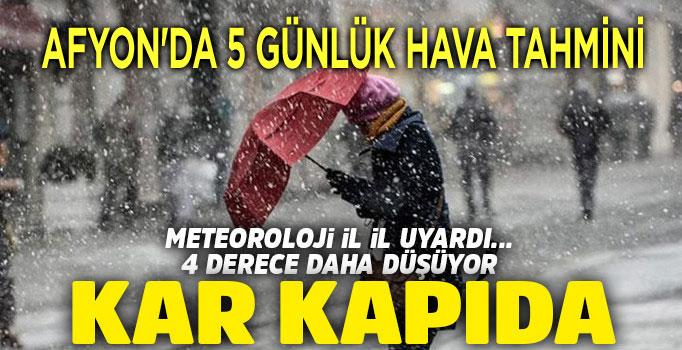 HAFTA SONU KAR GELİYOR!..