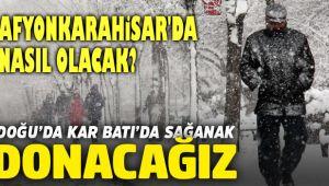 HAVALAR SOĞUYOR, KAR GELİYOR