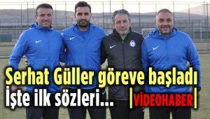 İŞTE AFJET AFYONSPOR'UN YENİ HOCASI SERHAT GÜLLER'İN İLK SÖZLERİ!..
