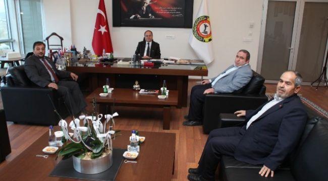 SAADET PARTİSİ'NDEN SERTESER'E ZİYARET