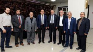 SAADET PARTİSİNDEN BAŞKAN ÇOBAN'A NEZAKET ZİYARETİ