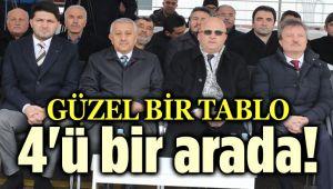 4'Ü BİR ARADA ÜLKÜCÜ ŞEHİT NECMİ BİLGİ PARKINI AÇTILAR!..