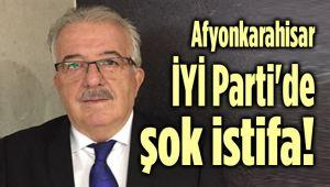 AFYON İYİ PARTİ'DE ŞOK İSTİFA