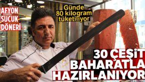AFYON SUCUK DÖNERİNE RAĞBET ARTIYOR!..