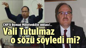 AFYONKARAHİSAR VALİSİ MECLİS GÜNDEMİNDE!..