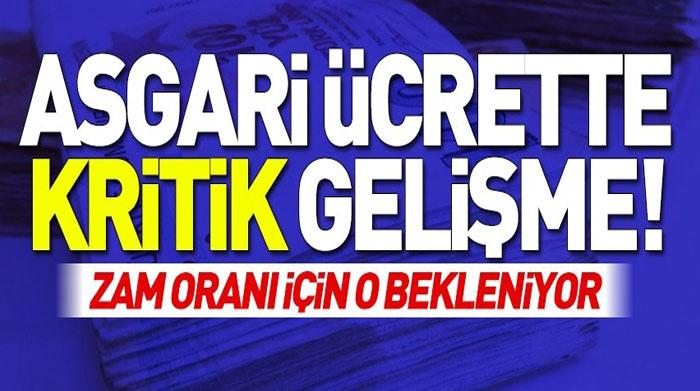 ASGARİ ÜCRET NE ZAMAN BELLİ OLACAK?..