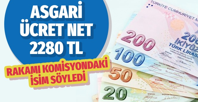 ASGARİ ÜCRET NET 2280 TL OLSUN!..