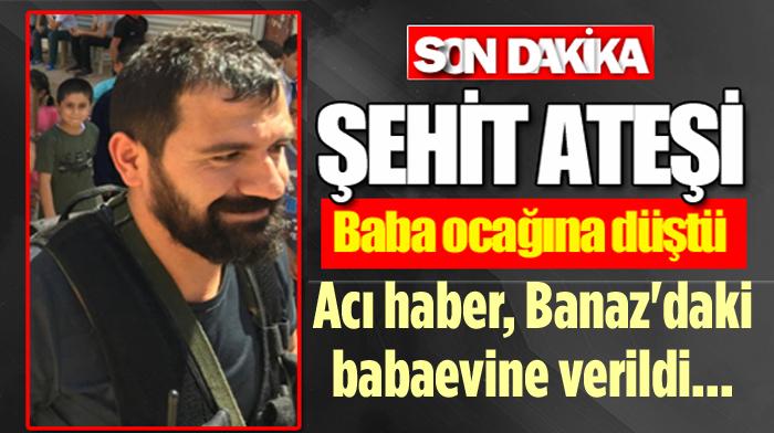 BANAZ'DA ŞEHİT ACISI, YARALI POLİS MEMURU ŞEHİT OLDU