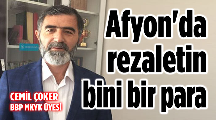 BBP'Lİ CEMİL ÇOKER'DER SERT TEPKİ!..