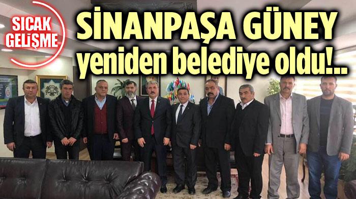 BBP'Lİ SÜLEYMAN ÇAĞLAR, MÜJDELİ HABERİ VERDİ!..