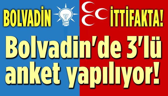 BOLVADİN'DE AK PARTİ-MHP İTTİFAKI OLMAK ÜZERE!..