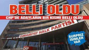 CHP'DE 3 İLÇE, 3 BELDE ADAYI BELLİ OLDU!..