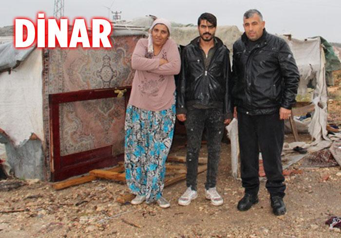 DİNAR'DA ÇADIRDA YAŞAYAN VATANDAŞ, YARDIM İSTEDİ