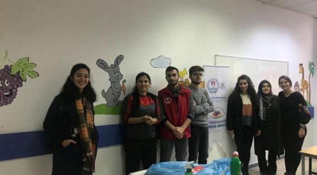 Gençler Hastahanede Boyama Yaptilar Sivil Toplum Afyon Haber