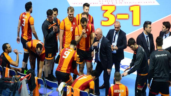 İKBAL AFYON BELEDİYE YÜNTAŞ, LİG İKİNCİSİ GALATASARAY'A PATLADI!.. 3-1