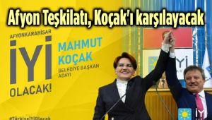 İYİ PARTİLİLER, YARIN MAHMUT KOÇAK'I KARŞILAYACAK!..