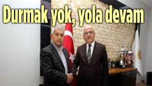 MEHMET ZEYBEK'TEN BAŞKAN ÇOBAN'A ZİYARET