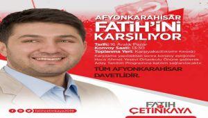 MHP'LİLER ÇETİNKAYA'YI KARŞILAYACAK