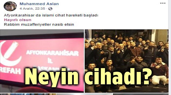 PARTİ KURULDU, İSLÂMİ CİHAD BAŞLADI!..